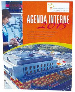 Agenda de bureau rigide